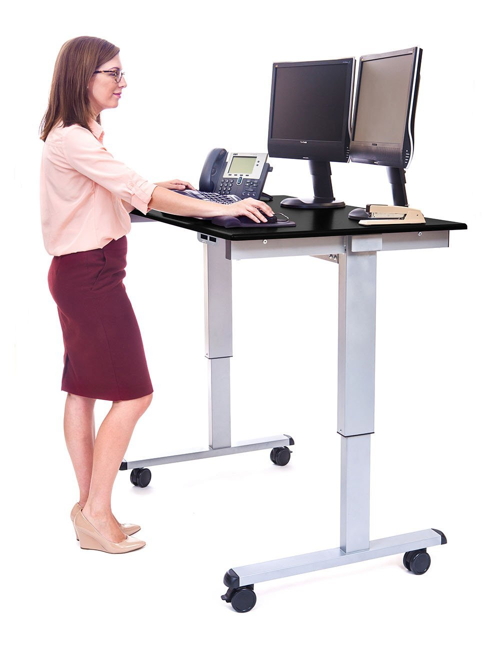 luxor_stande_electric_adjust_standing_desk_with_wheels