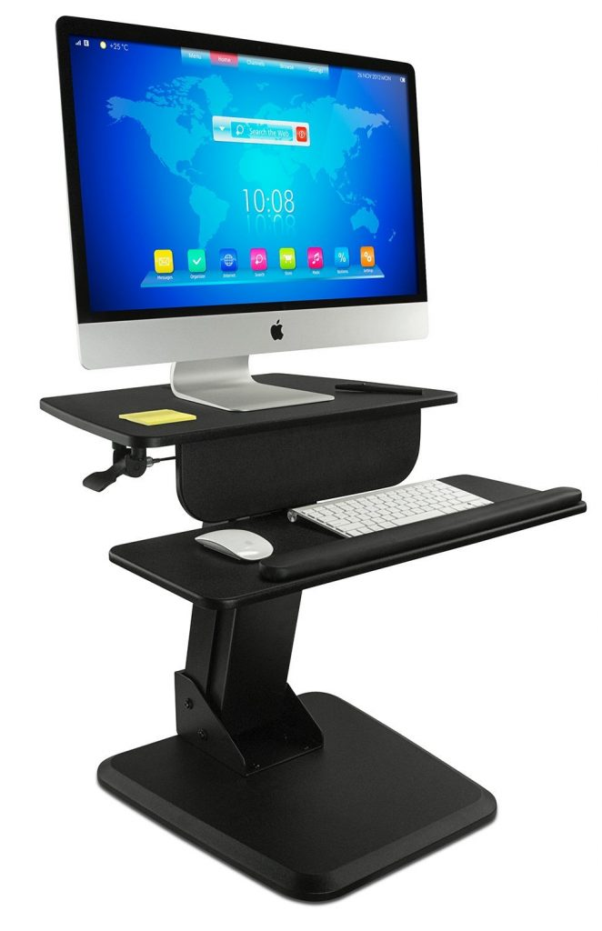 The Best Standing Desk Converters For Tiny Desks And