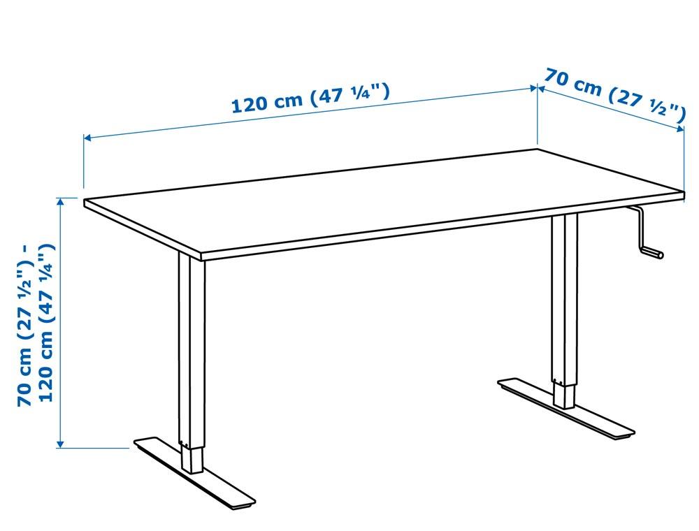 IkeaSkarstaIsASolidAdjustableFullSizeStanding