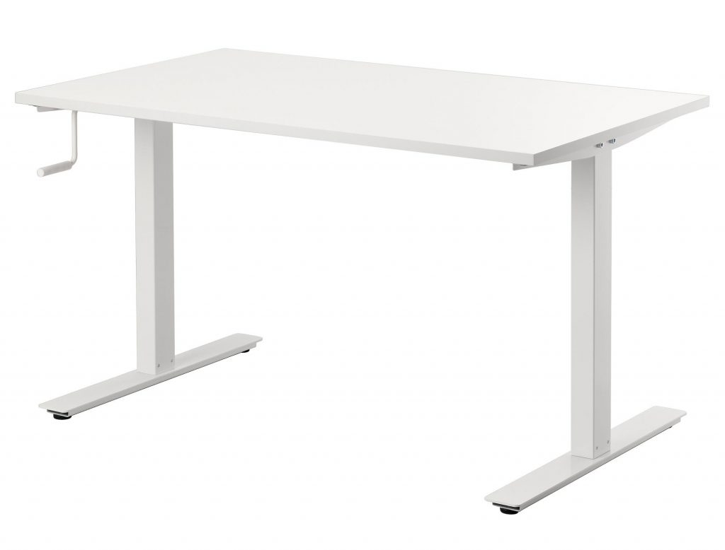 ikea skarsta is a solid adjustable full size standing desk at a great price. Black Bedroom Furniture Sets. Home Design Ideas
